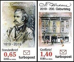 Turbopost: MiNr. , 02.04.2019,