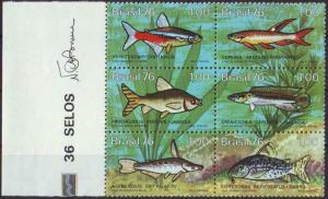 Brasilien: MiNr. 1545 - 1550, 12.07.1976,