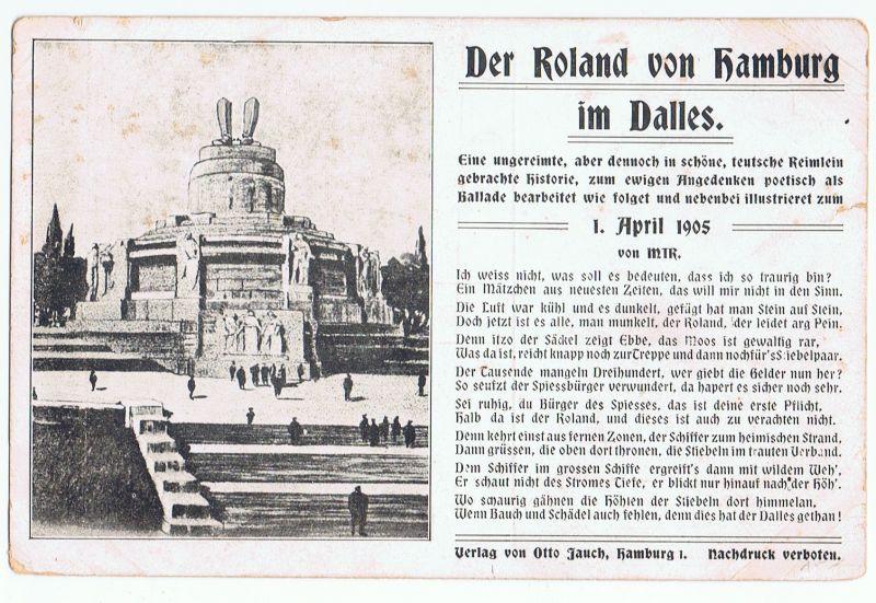 Der Roland von Hamburg... 1.April - Geschichte, Scherz 1905