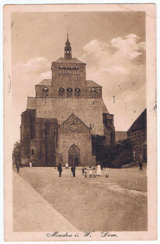 Minden Dom gel. 1917 Feldpost