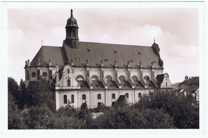 Altötting Basilika echte Fotografie