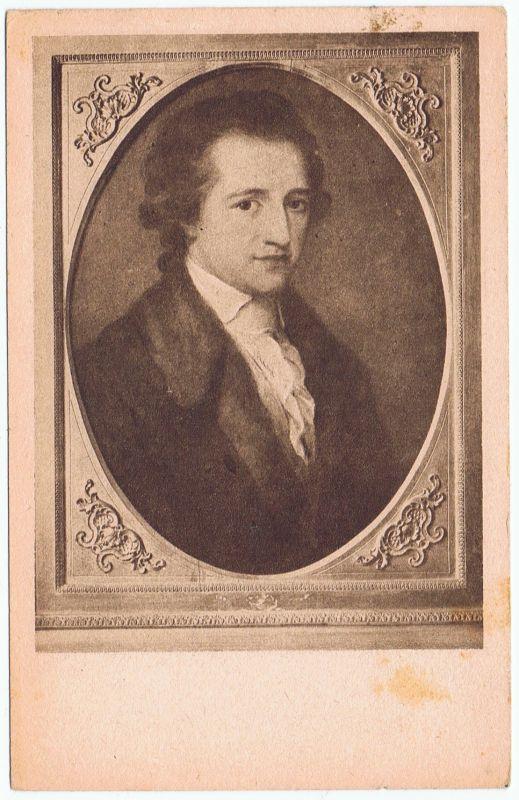 Goethe Portrait Künstler AK