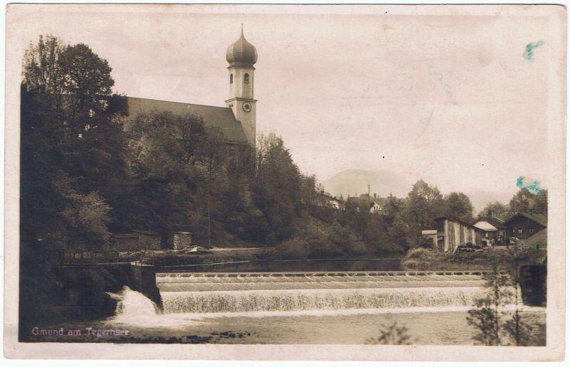 Gmund am Tegernsee, gel. 1935