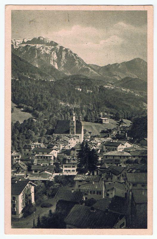 Berchtesgaden vom Soleleitungsweg, gel. 1925
