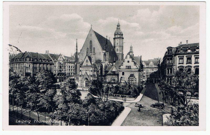 Leipzig Thomaskirche, gel. 1935