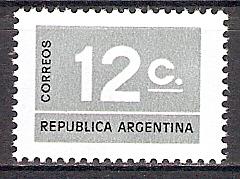 Argentinien 1254 ** Freimarke Ziffern (2017670)