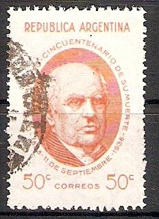 Argentinien 436 o Präsident Sarmiento (2017571) 0