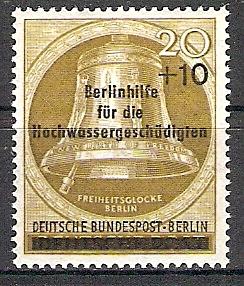 Berlin 155 ** Glocke - Hochwasser 1956 (2017319)