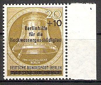 Berlin 155 ** Glocke - Hochwasser 1956 (2017573)
