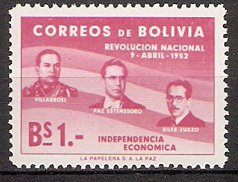 Bolivien 524 ** Revolution vom 9. April 1952 (2018159)