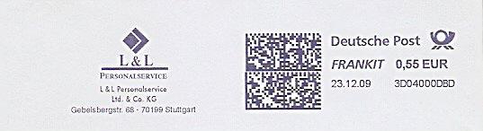 Freistempel 3D04000DBD Stuttgart - L&L Personalservice(#219)