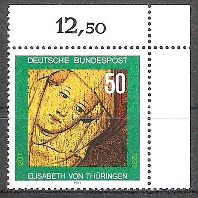 BRD 1114 ** Hl. Elisabeth - Bogenecke o.r. (2017320)