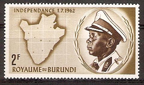 Burundi 27 A ** König Mwambutsa IV. (2015688)