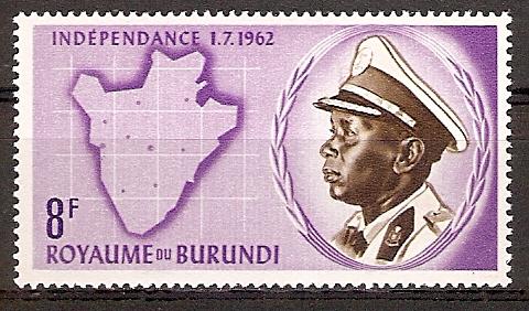 Burundi 30 A ** König Mwambutsa IV. (2015689)