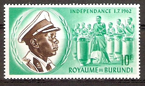 Burundi 31 A ** König Mwambutsa IV. (2015690)