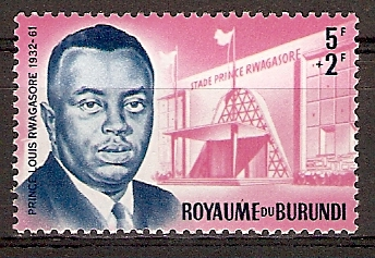 Burundi 46 A ** Prinz Louis Rwagasore (2015687)