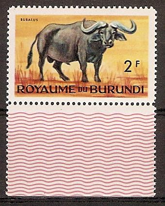 Burundi 90 A ** Kaffernbüffel (2015677)
