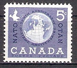 Canada 331 ** 10 Jahre Nordatlantikpakt (NATO) (2017465)