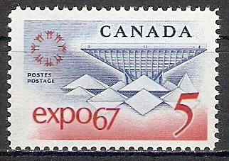 Canada 410 ** Weltausstellung EXPO 67, Montreal (2017462)
