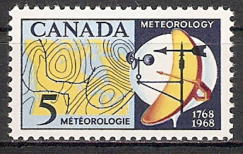 Canada 420 ** Meteorologie (2017459)