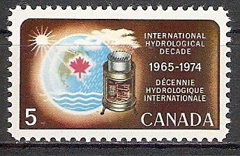 Canada 422 ** Wasserwirtschaftsdekade der UNESCO (2017460)