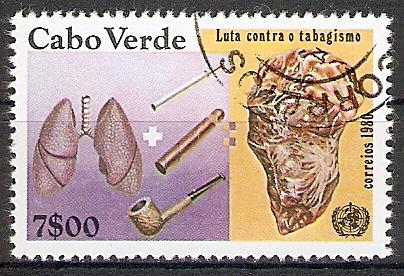 Kap Verde 418 o Weltgesundheitstag 1980 (2017369)