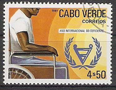 Kap Verde 444 o Intern. Jahr der Behinderten 1981 (2017370)