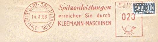 Freistempel Stuttgart - Kleemann Maschinen (#79)