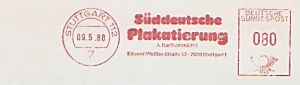 Freistempel Stuttgart - Süddeutsche Plakatierung (#120)
