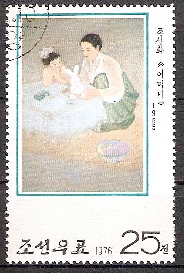 Korea-Nord 1475 o Mutter und Kind (2017116)