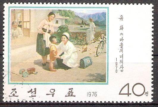 Korea-Nord 1477 o Landärztin / Rotes Kreuz (2017105)