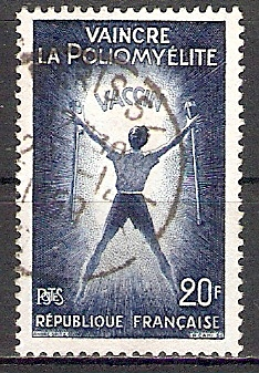 Frankreich 1266 o Schutzimpfung Kinderlähmung (2017515) 0