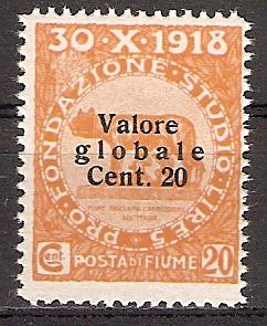 Fiume 77 ** Aufdruck Type II (2017200)