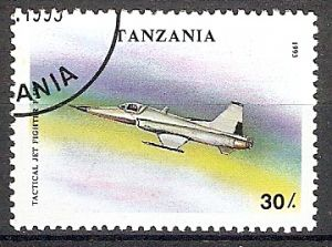 Tansania 1592 o Jagdflugzeug F-5E (2018304)