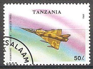 Tansania 1593 o Jagdbomber Mirage-3NG (2018305)