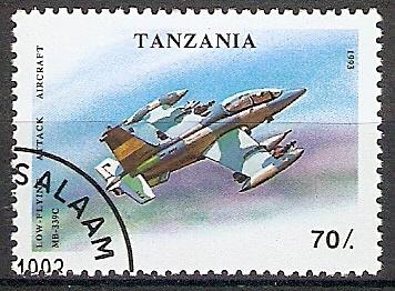 Tansania 1594 o Jagdflugzeug MB-339C (2018306)