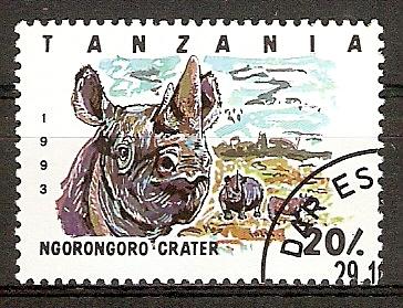 Tansania 1607 o Nashorn (2015806)