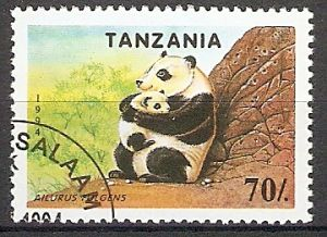 Tansania 1776 o Großer Panda (2018171)