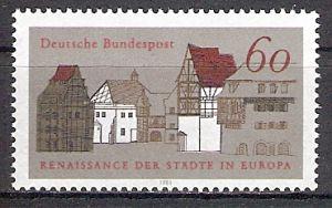 BRD 1084 ** Europäischer Denkmalschutz (2017420)