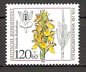 BRD 1228 ** Wohlfahrt 1984 - Holunder-Knabenkraut (201540) 0