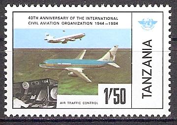 Tansania 247 ** ICAO - Flugzeuge / Kontrollraum (2018233)