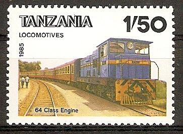 Tansania 281 ** Lokomotive Class 64 (2015809)