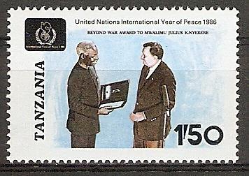 Tansania 364 ** Präsident Nyerere (2015801)