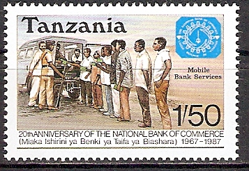 Tansania 382 ** Nationalbank (2015508)
