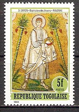 Togo 1826 ** Heiliger Simon (2015504)