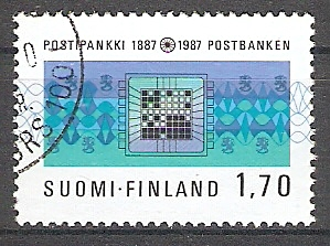 Finnland 1009 o 100 Jahre Postsparkasse (2017598)
