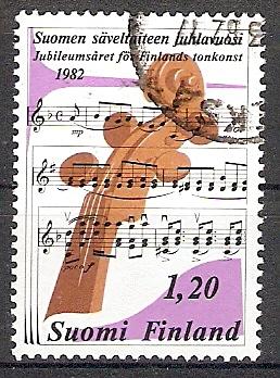 Finnland 896 o Finnische Tonkunst (2017597)
