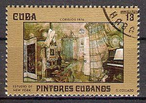Cuba 2159 o Gemälde von G. Collazo (201745)