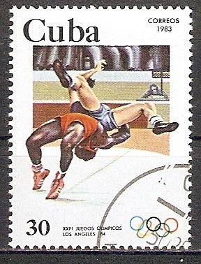 Cuba 2720 o Olympiade Los Angeles 1984 / Ringen (201870)