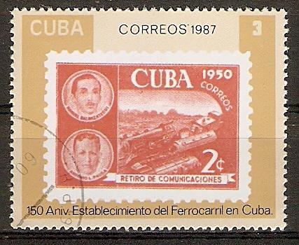 Cuba 3142 o 150 Jahre Eisenbahn in Kuba (2015825)